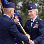 Brigadier General Jeannie M. Leavitt makes history at Nellis Air Force Base