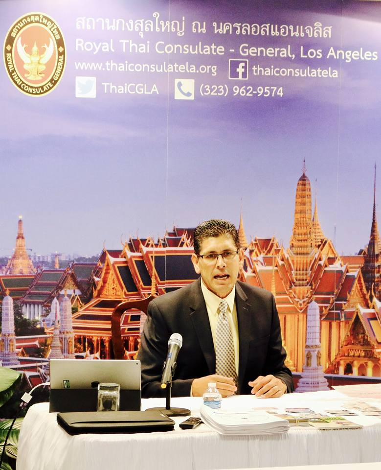 Royal Thai Consulate and LAPD