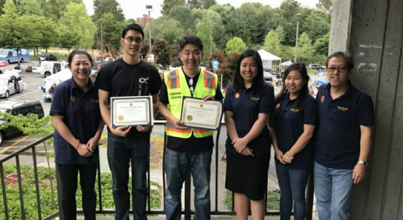 Royal Thai Consulate Los Angeles provided Mobile Consular Services during Thai Festival Seattle 2017