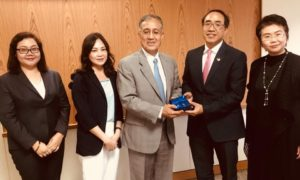 Los Angeles Area Chamber of Commerce meets with Center for Global Trade and Foreign Investment
