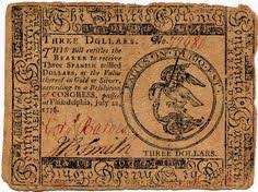 The First Paper Money In America