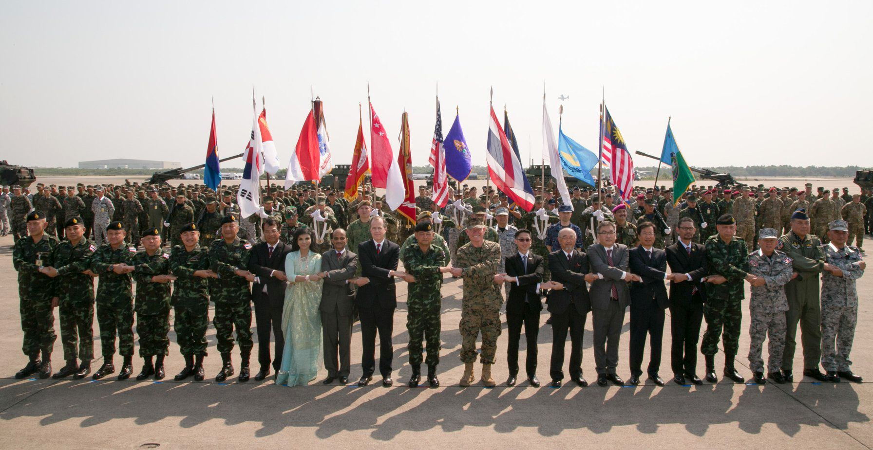 Ambassador Glyn Davies presided over the February 13 opening ceremony for Cobra Gold 2018