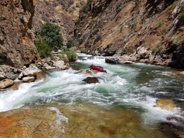 Car in Kings River