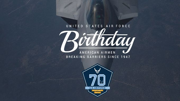 United States Air Force 70th Birthday