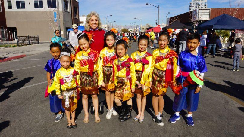 Congresswoman Dina Titus D-NV visits CNY in the Desert 2020