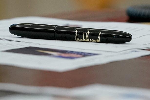 ปากกาประจำตัวของโดนัลด์ ทรัมป์